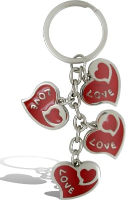 Get Fatang 4 in 1 Love Heart Valentine Key Chain