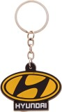 Veevi Silicon Hyundai Car Logo Key Chain...
