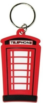 Bombay Merch London Telephone Box Rubber Key Chain