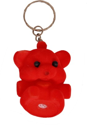 Indigo Creatives Valentine Cute Puppy Squeky Squeezy Key Chain