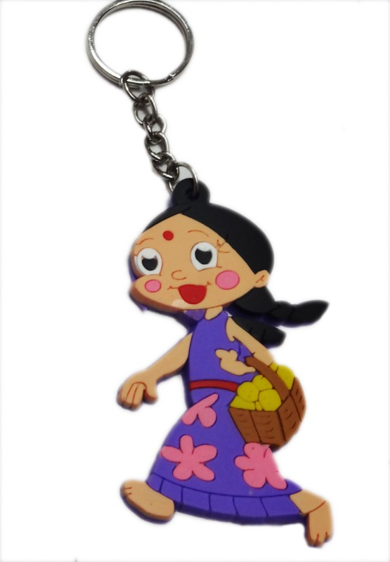 Aditya Traders rubber girl Key Chain(Multicolor)