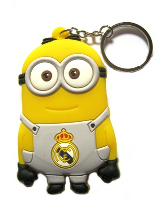 Optimum Deal Cute Despicable Me Movie Character Double Sided Rubber Key Chain