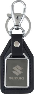 PARRK Suzuki mirror leather car logo Locking Key Chain