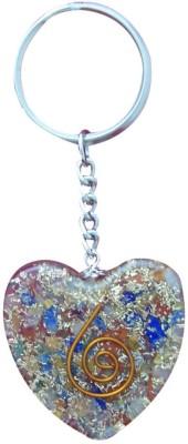 Aaradhi Divya Mantra Orgone Energy Heart 7 Chakra Key Chain