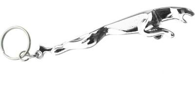 Confident Jaguar Metallic Finish Key Chain