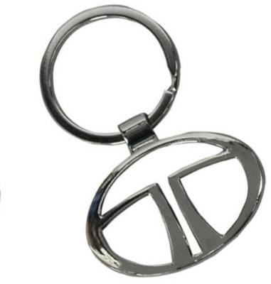 Rudham Tata Logo Metal Car Key Chain