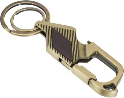 Gadge Hook In Brown And Metal Finish Carabiner