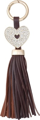 Super Drool Brown Fringes Locking Key Chain