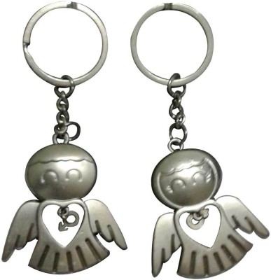 ShopeGift Birdy Couple Open Wing Key Chain