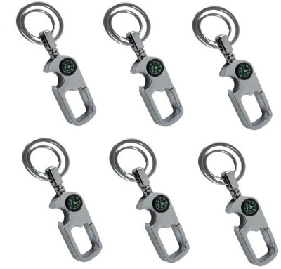 Ezone Digione Curved Gate_pack of 6 Locking Key Chain