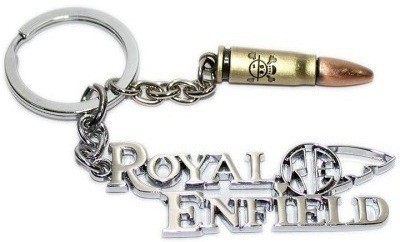 PARRK Imported Royal Enfield Logo With Bullet f45 Key Chain