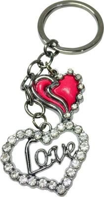Priyankish Love Heart Key Chain