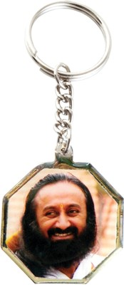 Aashram Eight Triangle Locking Key Chain