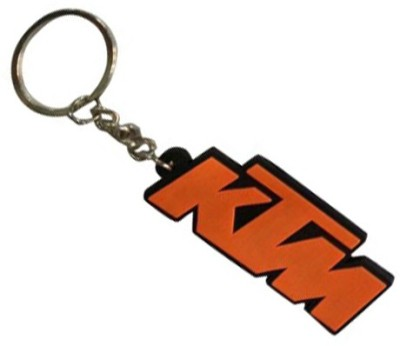 TAG3 KTM Bike Silicon Beautiful Logo Key Chain Carabiner