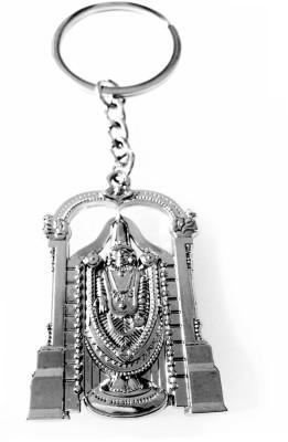 Tech Fashion Tirupati Balaji Metal Ring Key Chain