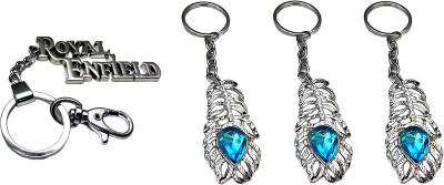 FCS Big Royal Enfield + Omg Locking Key Chain