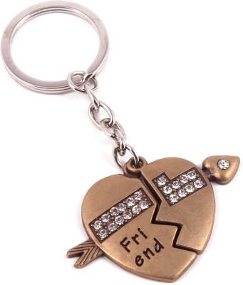 VeeVi Diamond Studded Friend Key Chain