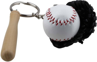 Zobello Baseball Set Backpack Tag Key Chain