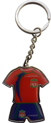 Techpro Double sided Liverpool Jersey Key Chain