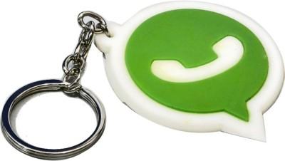 Shop & Shoppee Whatsapp Logo Rubber Key Chain