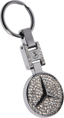 Spotdeal SDL330 Stone Royal Mercedes Full Metal Key Chain Key Chain