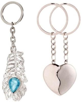 New Pinch combo of omg( medium) and broken heart Key Chain