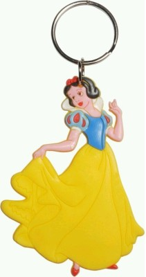 mapple princess yello grown rubber .jpeg Key Chain