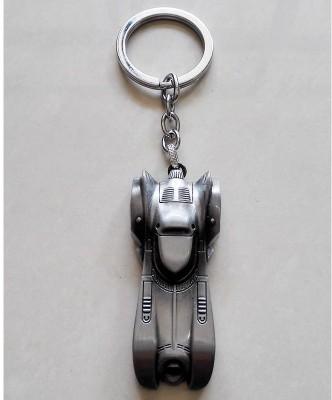 optimus traders Batman Batmobile 3D Logo Metal Keychain Keyring Locking Key Chain