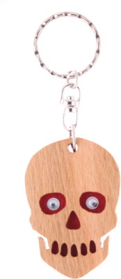 JM Ghost Red Face Key Chain