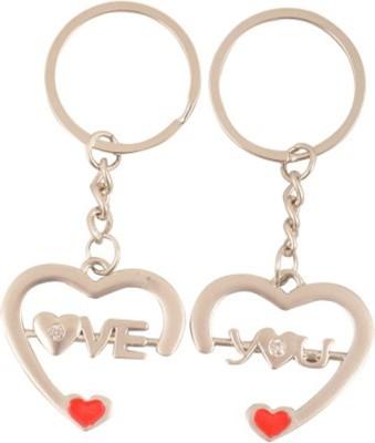 ShopeGift Love You Jewel Broken HRT Key Chain