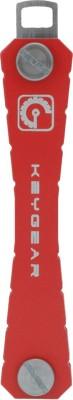 Keygear Metal Red Locking Key Chain