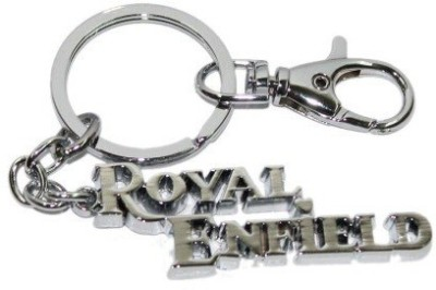 PARRK Imported Royal Enfield Chrome Plated f44 Key Chain
