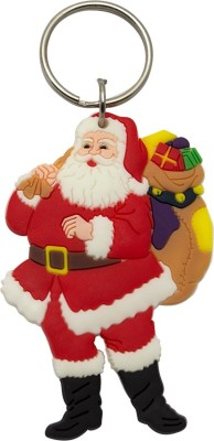 JLT Santa Claus with Lots of Gifts Key Chain