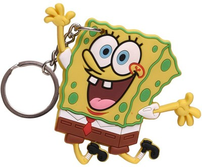 Spotdeal SDL730 Sponge Bob Rubber Key Chain Carabiner