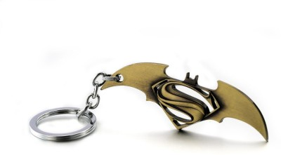 Chainz Batman Vs Superman Metal Bronze Key Chain