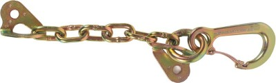Fixe Descending With Carabiner (Chain Anchor) Locking Key Chain
