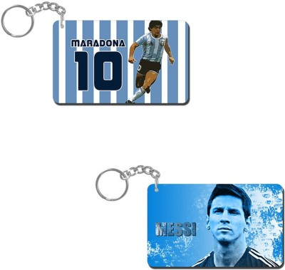 Lovely Collection Maradona Art Key Chain