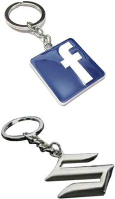 Alexus Facebook And Suzuki Key Chain