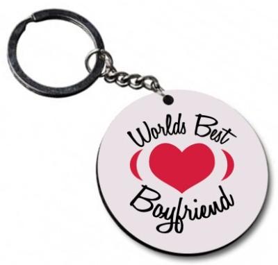 Shoppers Bucket World Best Boyfriend Key Chain