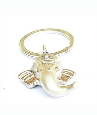 Shop & Shoppee Ganesha Metal Ring Key Chain