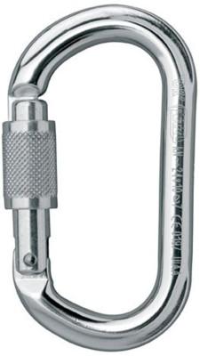 Petzl Aluminum Ok Screw Lock Locking Carabiner