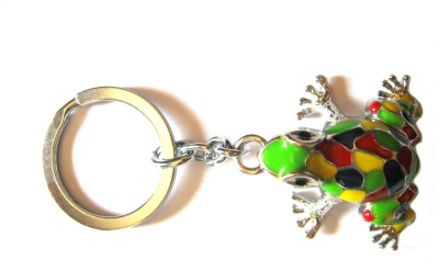 Optimum Deal Cute Frog Metal Key Chain