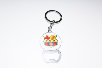 Aura FC Barcelona Bottle Opener Key Chain