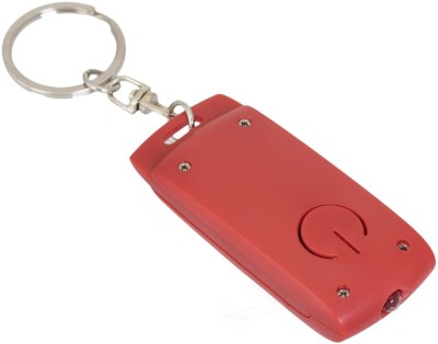Gadge Classey With Led Torch Red Key Chain