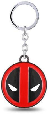 SURAJ ENTERPRISES Deadpool-Logo-Metal Key Chain