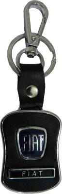 Techpro Leatherite Fiat Locking Key Chain