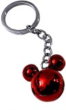 FCS Ring Key Chain (Red)