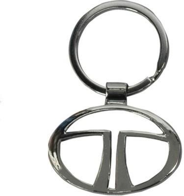 Indiashopers Tata Metallic Ring Key Chain