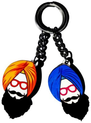 MiiCreations Punjabi Singh Beard Key Chain