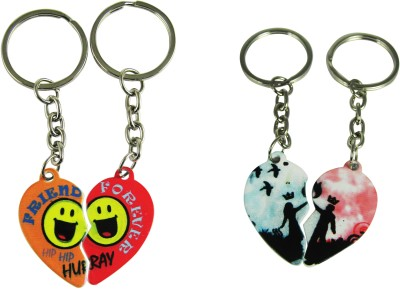 Target retail FRIEND FOREVER AND LOVE COUPLE KEYRING Key Chain